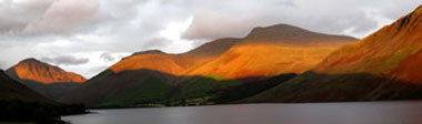 Sunset at Wasdale, The Lake District, UK