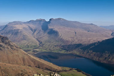 Scafell Range, The Lake District, UK