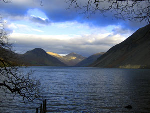 Wastwater in Wasdale, The Lake District, UK