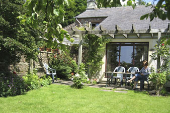 Well Cottage Holiday Accommodation Garden, The Lake District, UK