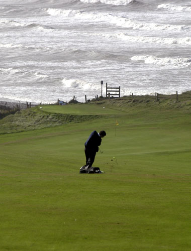 St Bees golf, The Lake District, UK