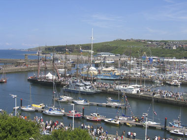 Whitehaven Harbour, Western Lake District uk
